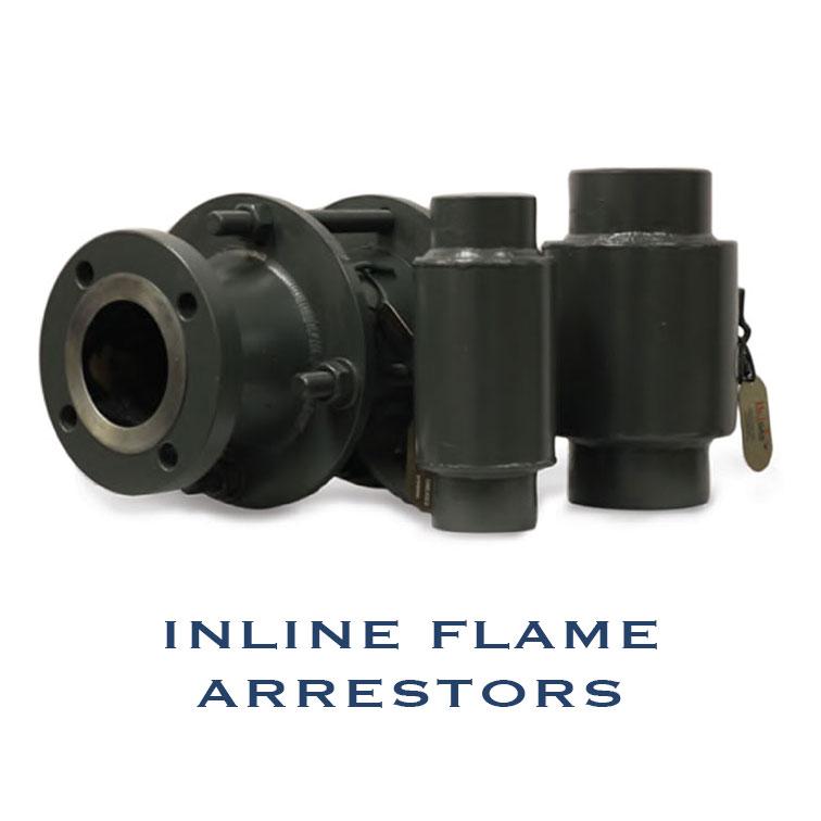inline flame arrestors